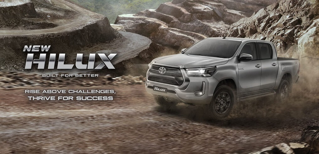 Banner Produk New Hilux D Cab V Type Di Dealer Toyota Solo