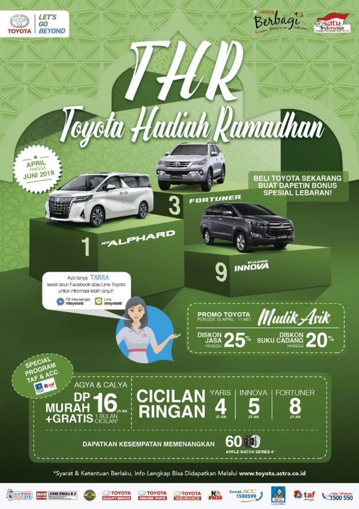 Spesial Promo THR Sambut Ramadhan Di Toyota Solo