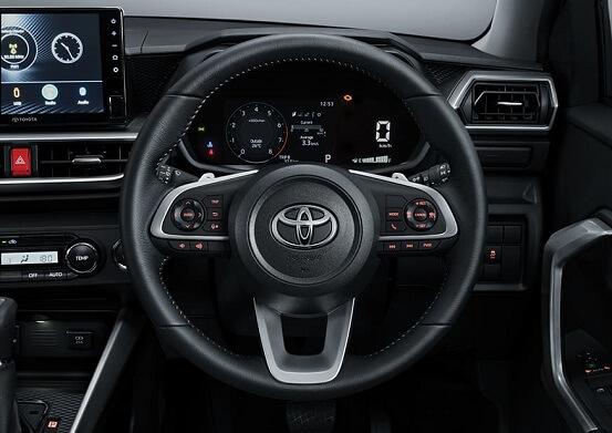 Interior Toyota Raize (4)