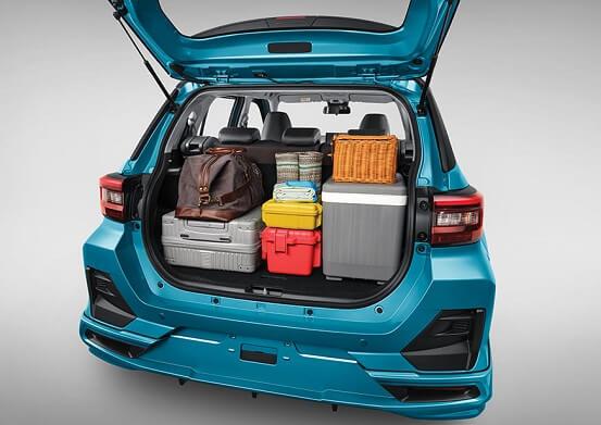 Interior Toyota Raize (5)